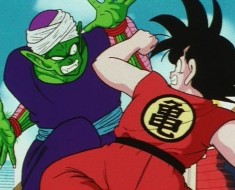 video Goku contra Piccolo