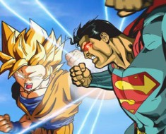 combate goku vs superman