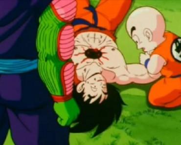 la muerte de goku