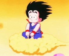 Video de goku de la nube voladora