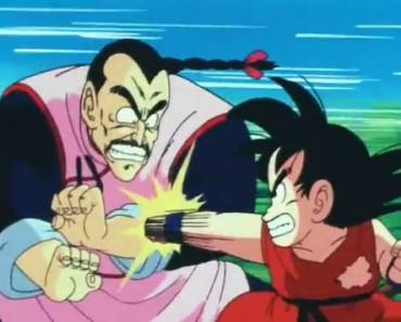 pelea goku vs tao