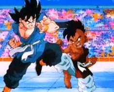 pelea goku vs uub